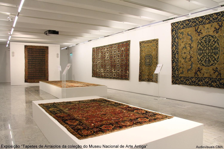 """Exposição """"Tapetes de Arraiolos da Coleção do Museu Nacional de Arte Antiga"""""""