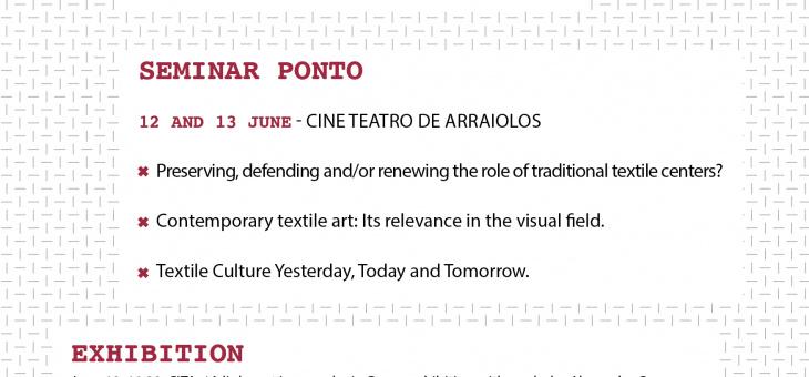"Encontro Internacional ""Textile Art In Perspective"""
